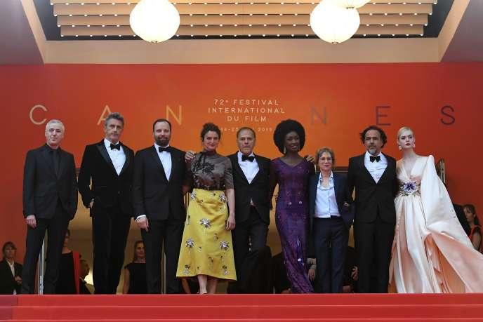 Les membres du jury du festival de Cannes, le 14 mai.