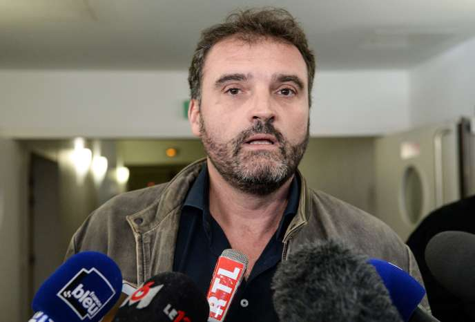 L'anesthésiste Frédéric Péchier, à Besançon, le 29 mars 2017.
