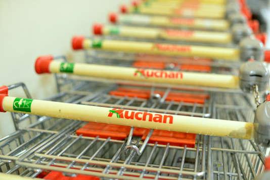 Dans un supermarché Auchan à Rome, en 2012.