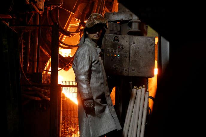 L'usine d'Ascoval de Saint-Saulve (Nord), le 8 novembre 2018.