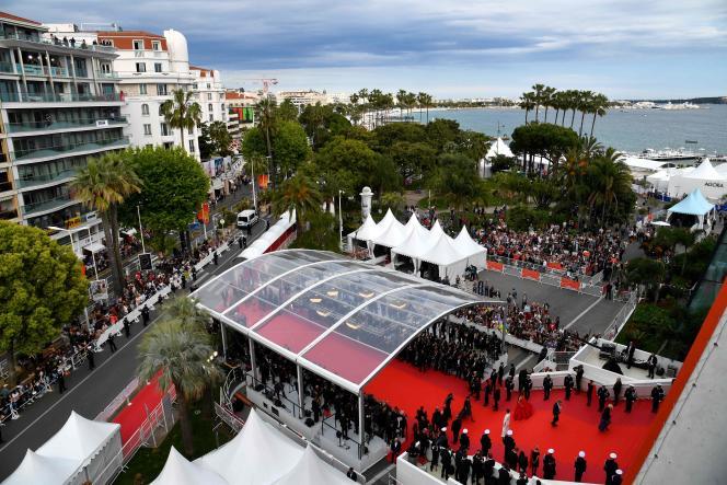 Un aperçu de la 72e édition du Festival de Cannes, le 14 mai 2019.
