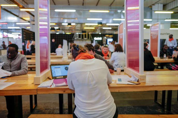 Des recruteurs de la SNCF font passer des «job-datings» durant deux jours.
