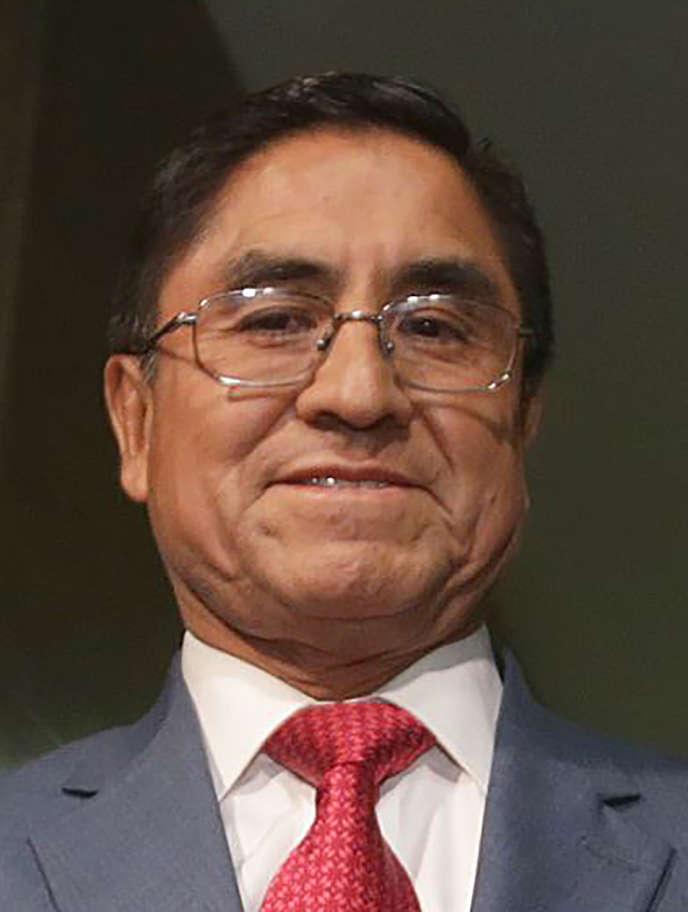 L'ex-juge de la Cour suprême péruvienne César Hinostroza, en juillet 2018.