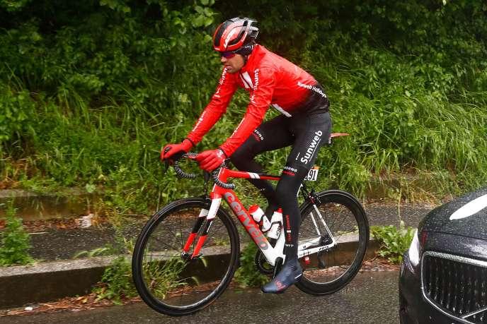Tom Dumoulin, le 15 mai lors de la 5e étape du Giro.