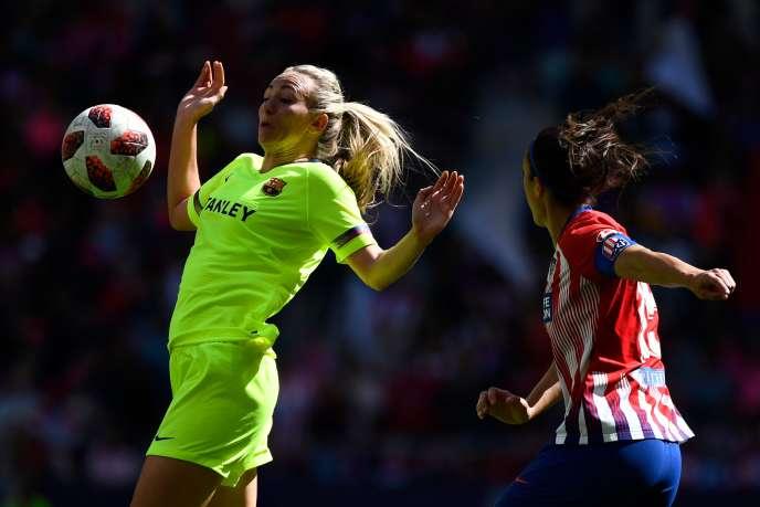 Au stade Metropolitano de Madrid, les équipes adultesde Barceloneet de l'Atlético ont rassemblé, le 17 avril dernier, 60 739 spectateurs, le record mondial pour un match féminin de club.