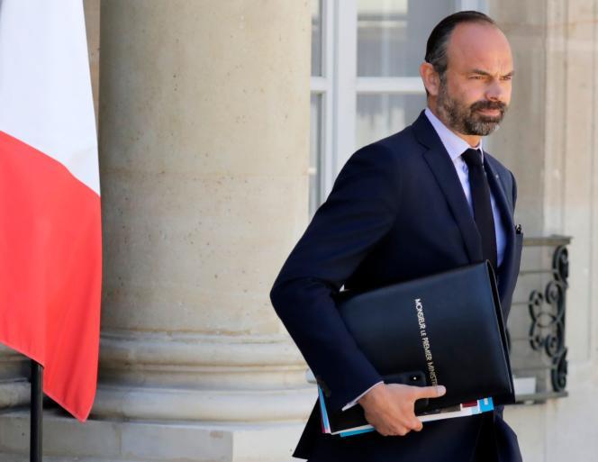 Le premier ministre, Edouard Philippe, le 15mai à l'Elysée.