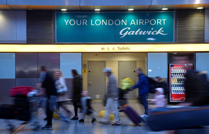 L'aéroport londonien de Gatwick, le 21 décembre 2018.