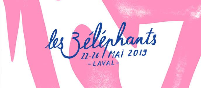 Festival poster The 3 Elephants.