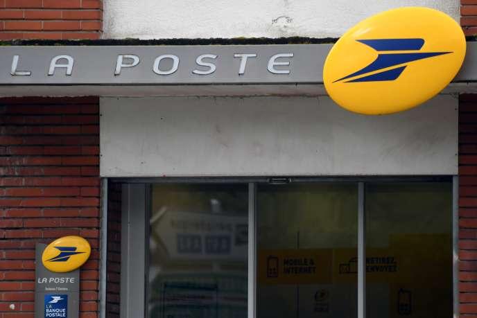 L'« amende maximale» de 150 000 euros a été requise lundi 13 mai contre La Poste. Ici, àToulouse le 4 avril 2019.