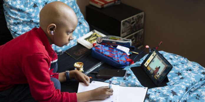 Avec Mon Cartable connecté, les enfants malades gardent leur classe