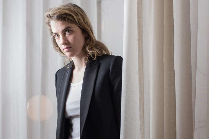 Adèle Haenel à Cannes, le 15 mai.