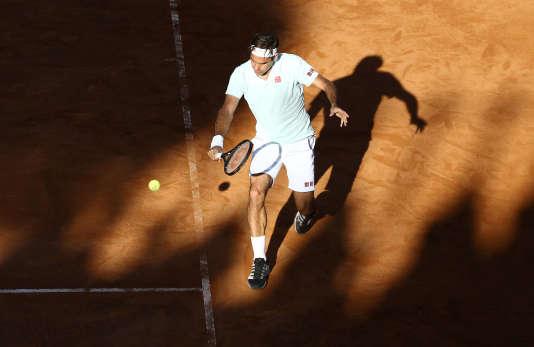 Très attendu par le public romain, Roger Federer a abandonné vendredi, avant de disputer son quart de finale.