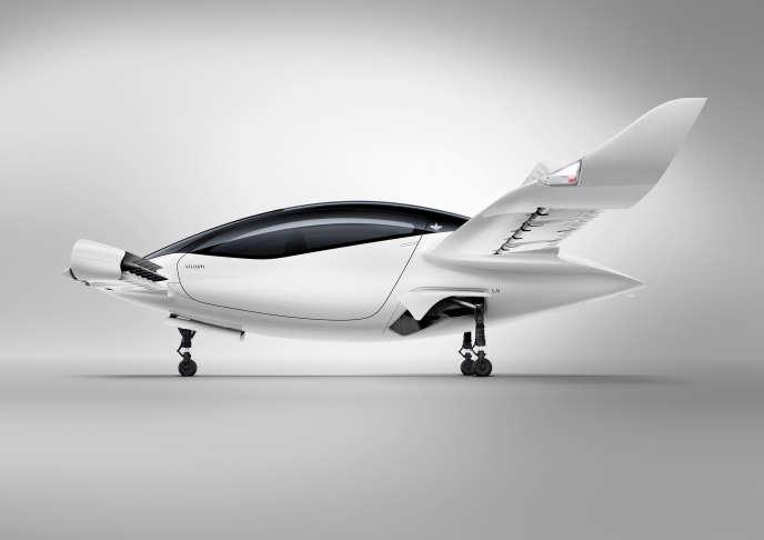 Le jet de Lilium estdoté de trente-six moteurs électriques et peut embarquer quatre personnes en plus d'un pilote.