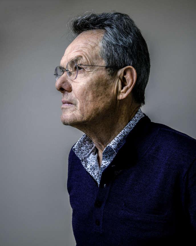 Jean-Paul Kauffmann à Paris, le 26 février.