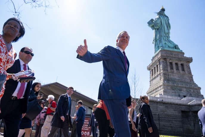 Le maire de New York, Bill de Blasio, le 16 mai à New York.