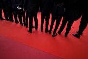 Sur le tapis rouge lors de la 72e édition du Festival de Cannes, le 15 mai.