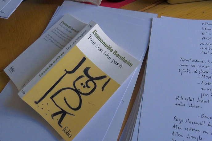 Alain Cavalier est un lecteur bouleversé du roman d'Emmanuèle Bernheim, «Tout s'est bien passé» (Gallimard, 2013), dédié à la mémoire de son père.
