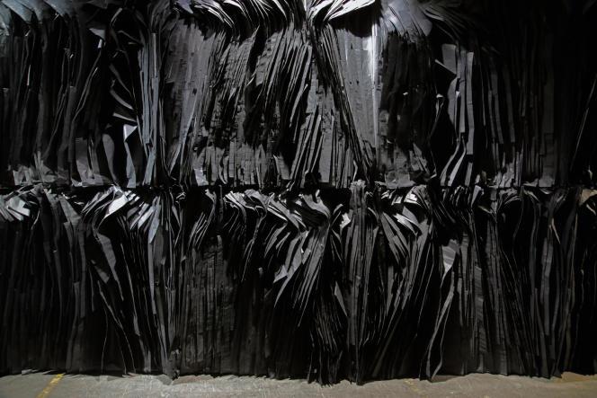 Pavillon de Madagascar, 58e Biennale de Venise, œuvre deJoël Andrianomearisoa.