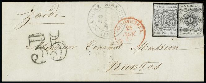 La Réunion, 1850 : prix de départ 50000 euros.