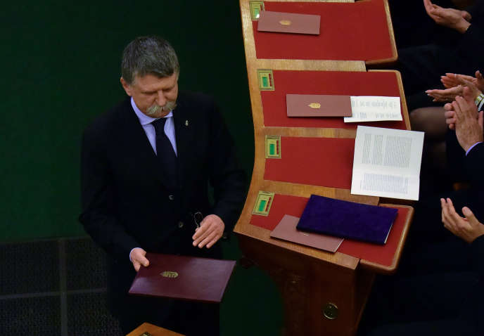 Le président du Parlement hongrois,Laszlo Köver, en avril 2016.