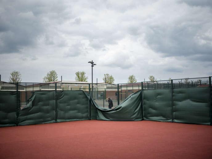 Au centre de rétention administrative du Mesnil-Amelot (Seine-et-Marne), le 6 mai.
