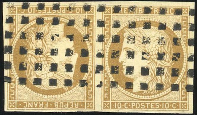 Prix de départ de 17000 euros pour cette paire du numéro 1 de la collection de France.