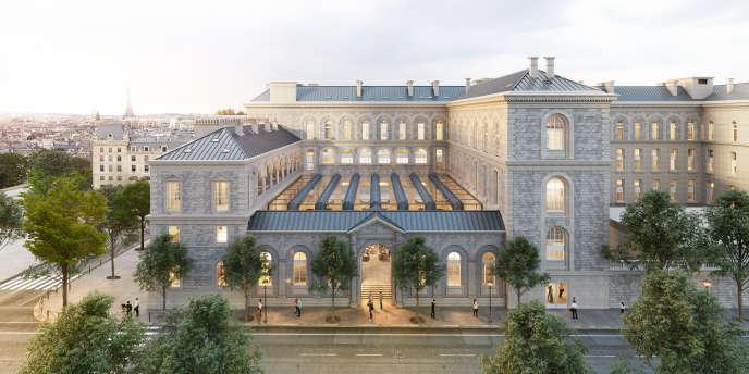 Image de présentation du projet du développeur immobilier Novaxia pour rénover l'Hôtel-Dieu.