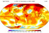 Un mois d'avril très, très chaud dans le monde