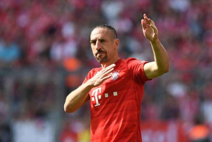 Franck Ribéry, contre Francfort, le 18 mai.