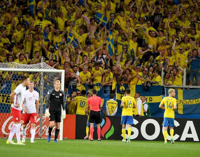 Un match de football de l'UEFA U-21 joué le 19 juin 2017 dans l'Arena Lublin et construit à hauteur de 45 millions dont 30 % de fonds européens.
