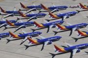 La flotte deBoeing 737 MAX de la compagnie Southwest.