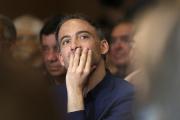 Raphaël Glucksmann, à la tête de la liste Place publique aux élections européennes, le 17 mai 2019 à Marseille.