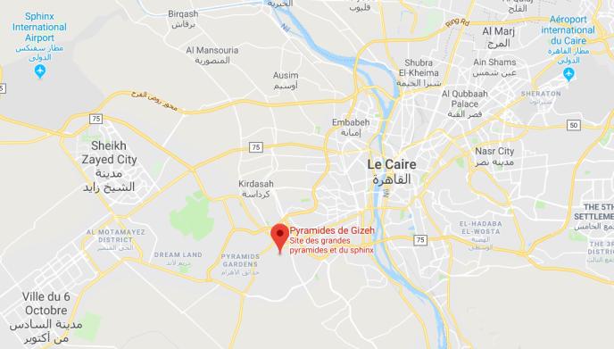 Un engin explosif a détoné au passage d'un autocar de tourismeprès des célèbres pyramides égyptiennes de Gizeh.