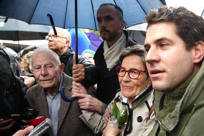 Les parents de Vincent Lambert, le 19 mai à Reims.