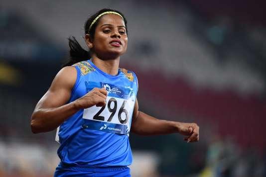 Dutee Chand est la première athlète indienne à révéler son homosexualité.