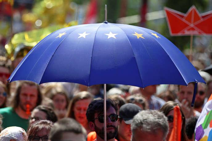 «C'est un gâchis criminel que de manquer l'opportunité de propositions audacieuses – et non technocratiques – pour changer radicalement un projet européen aujourd'hui en bout de course.» (Photo: à Vienne, en Autriche, le 19 mai.)