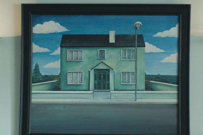 L'une des maisons du lotissement imaginé par Lorcan Finnegan dans « Vivarium ».