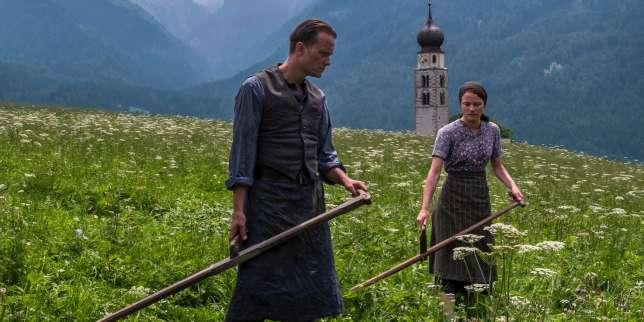 August Diehl et Valerie Pachner dans« Une vie cachée», de Terrence Malick.