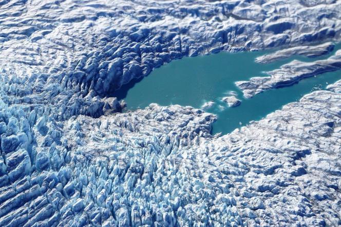 Vue près de Kangerlussuaq, dans le Groenland le 6 mai.