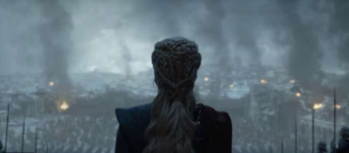 Daenerys, dans l'épisode final de « Game of Thrones ».