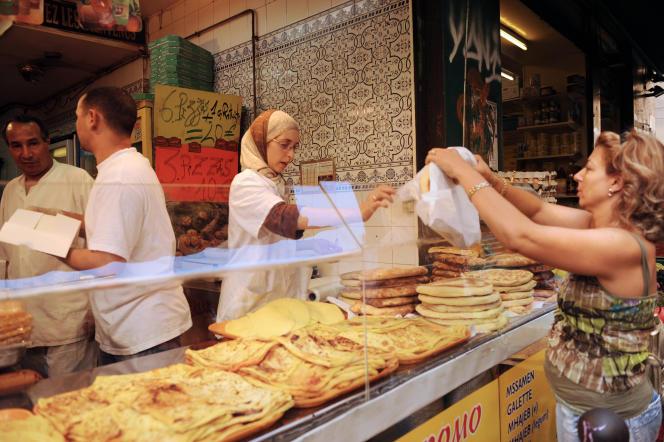 A Marseille, avant la rupture du jeûne pendant le ramadan.