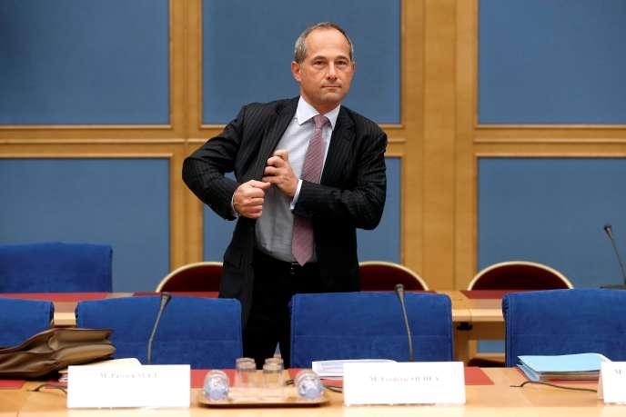 Le directeur général de la Société générale, Frédéric Oudéa, à Paris, en mai 2016.