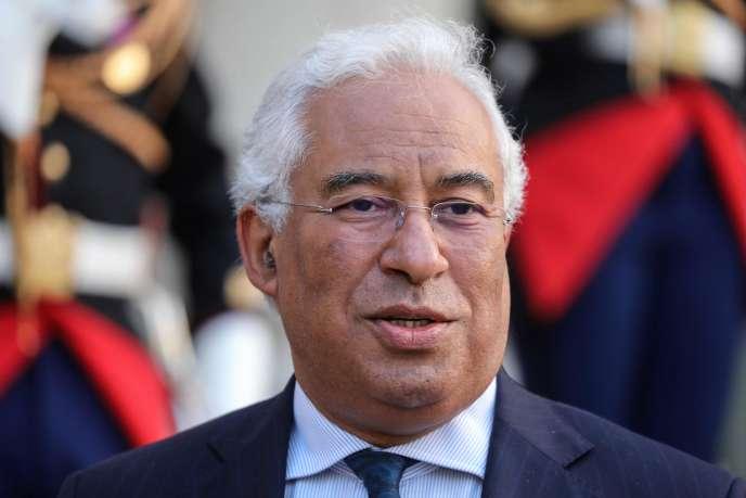 Antonio Costa à l'Elysée, le 20 mai.