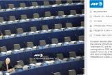 La célèbre photographie d'un Parlement européen vide ne prouve rien