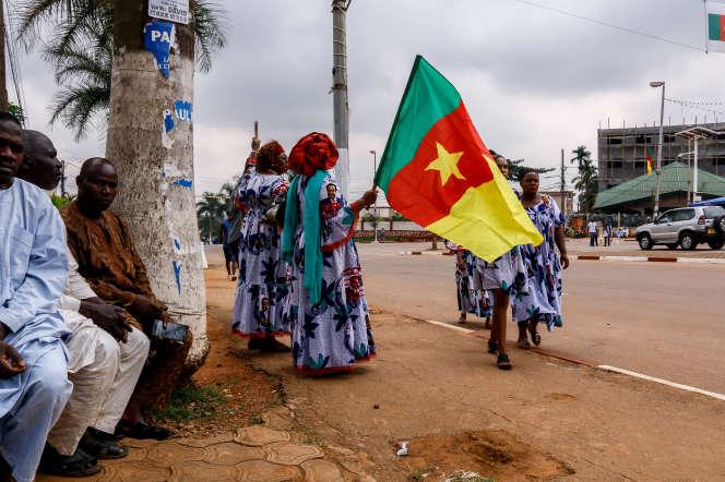 Dans les rues de Yaoundé, la capitale du Cameroun, en novembre 2018.