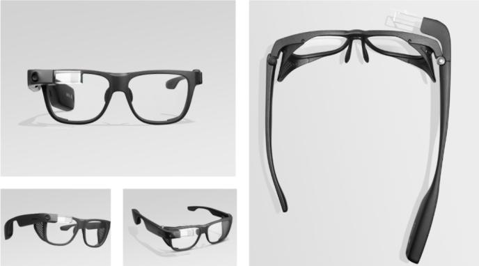 Le nouveau modèle de Google Glass.