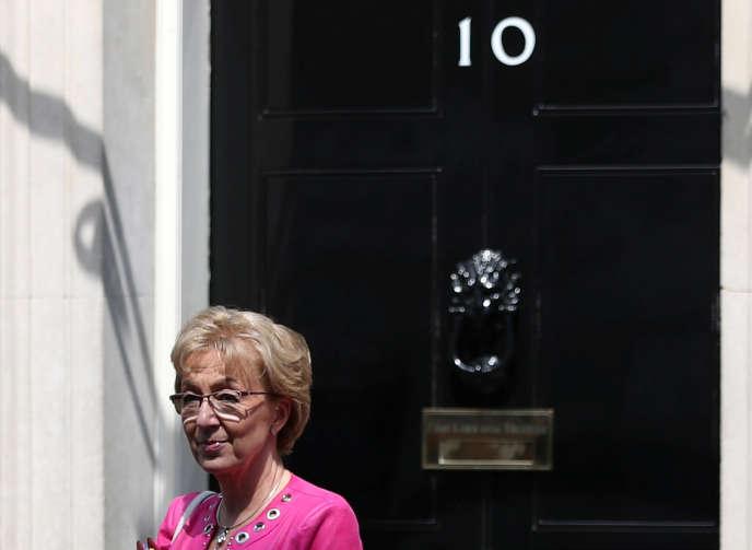 La ministre britannique chargée des relations avec le Parlement, Andrea Leadsom, le 21 mai.