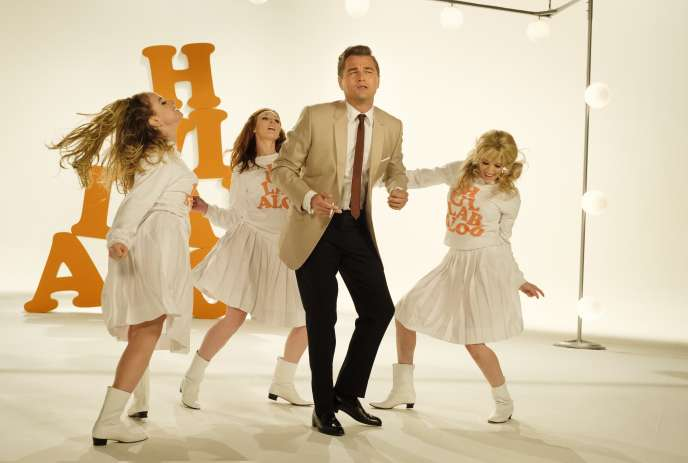Leonardo DiCaprio, au centre, dans «Once Upon a Time... in Hollywood».