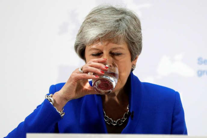 La première ministre britannique, Theresa May, le 21 mai.