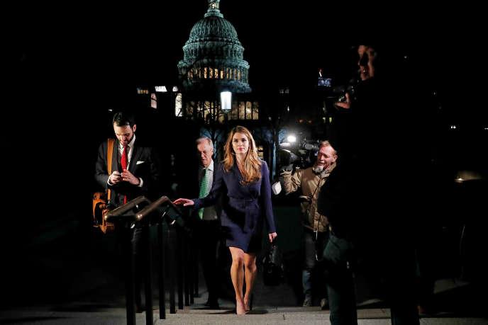 Les démocrates considèrent Hope Hicks comme un témoin-clé pour leurs enquêtes concernant le président républicain.
